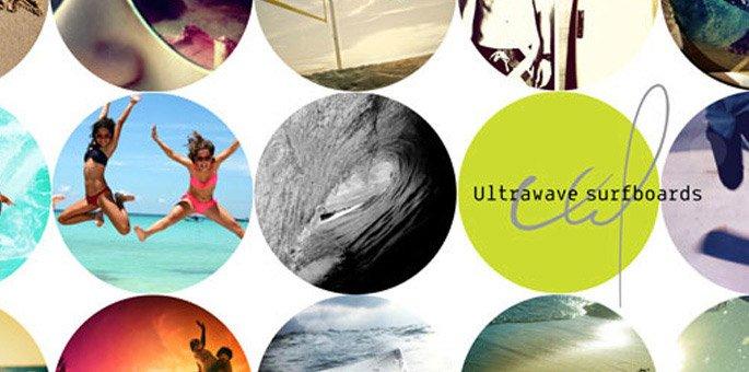 """בניית תדמית לחברת """"Ultrawave"""" חברה לייצור גלשנים ובורדים"""